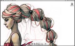 Screen shot (little luck tree) Tags: wallpaper apple macintosh imac customization ravenskar vietmybui