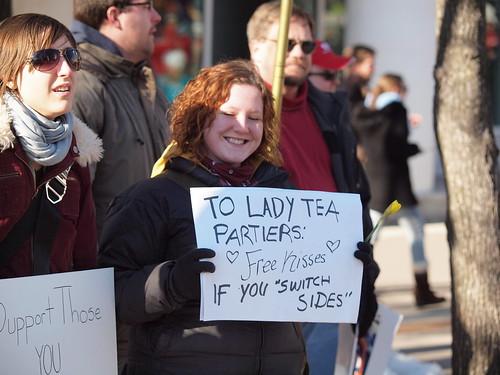 Former Lady Tea Partier?