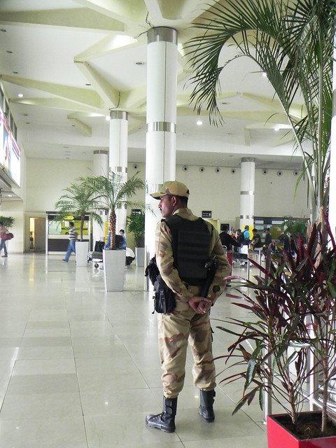 Security at Delhi Airport