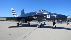 Navy | F/A-18 (donnazoll) Tags: california sandiego navy coronado jetfighter dz fa18f vfc12 donnazoll centennialofaviation 12february2011 northislandopenhouse
