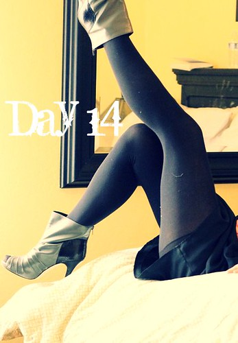 February Tights Challenge: Day 14