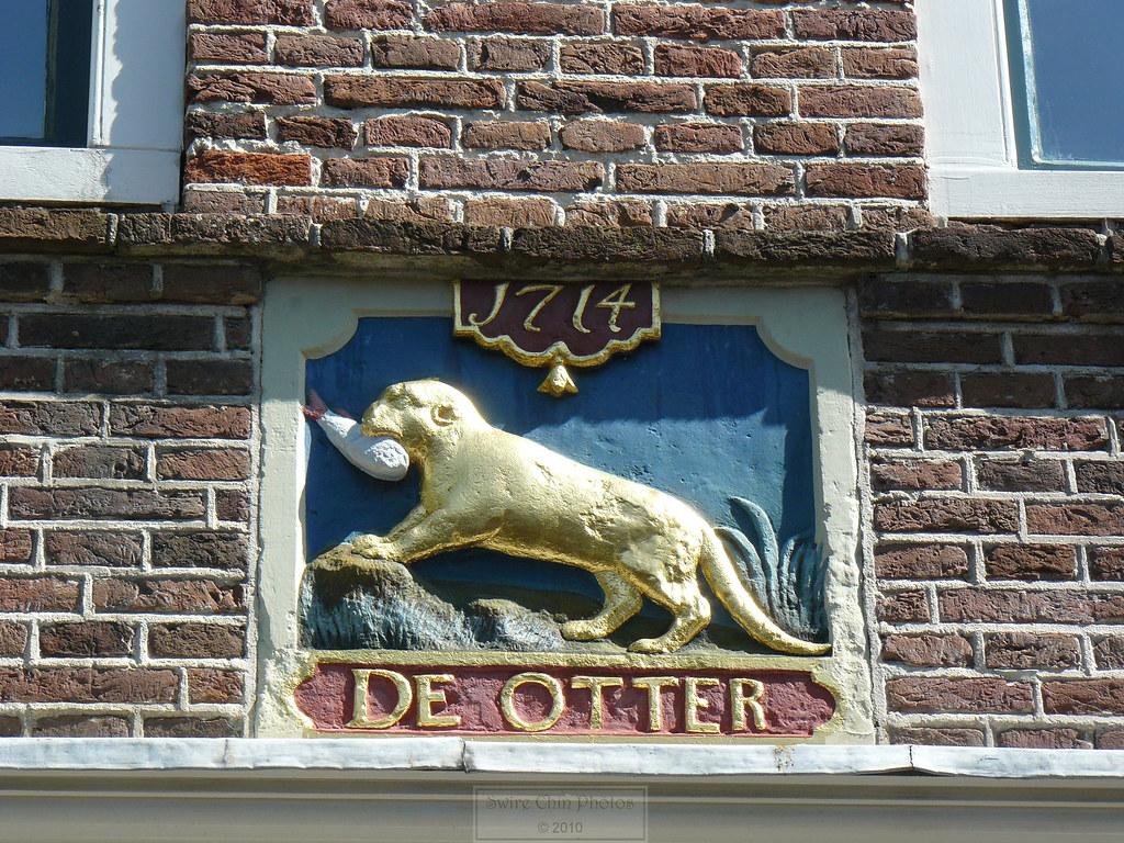 Wall Plaque: De Otter 1714