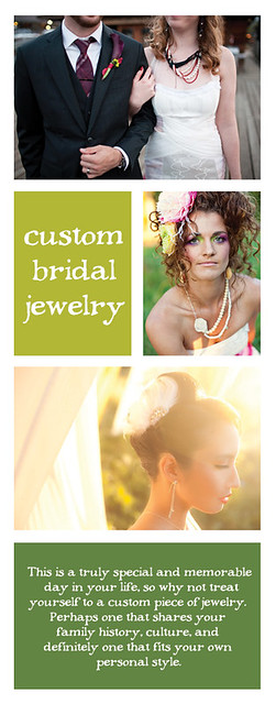 custom bridal jewelry.