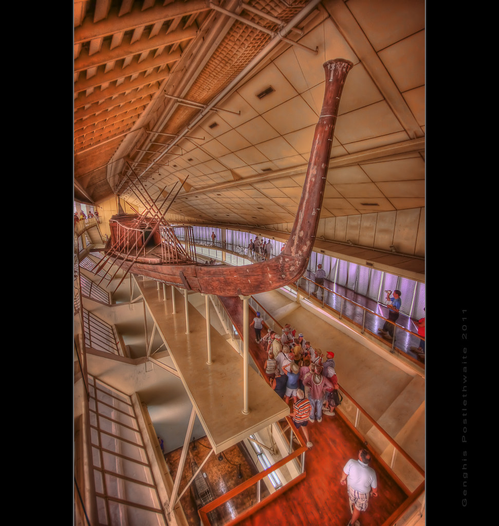 The Khufu ship, Giza
