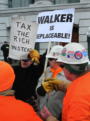 Walker Says He Talked to Workers, but He Didn't Talk to These Workers
