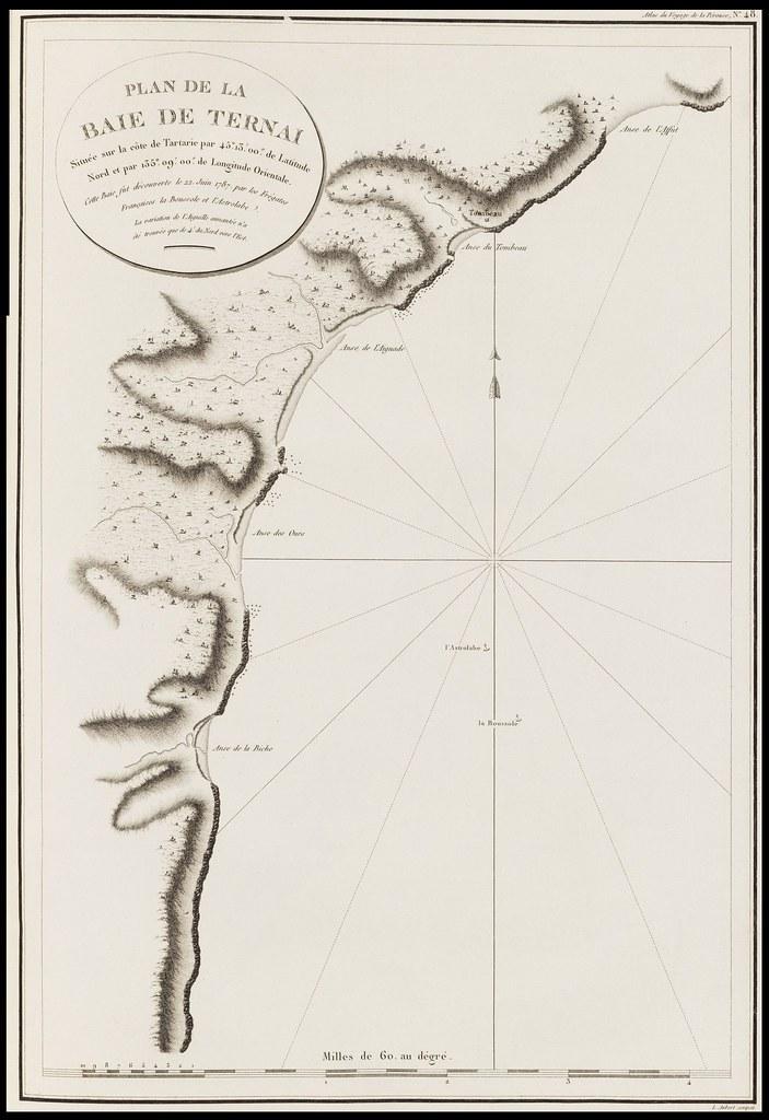 Plan de la Baie de Ternai