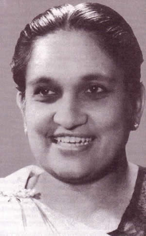 Sirimavo, Honouring the world's first woman Prime Minister.