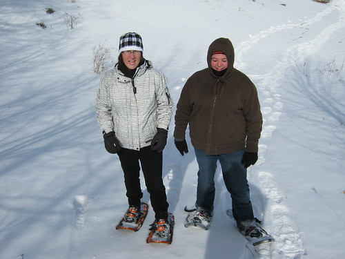 Snowshoeing In The Sunshine