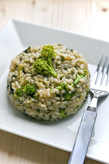 Risotto con Cime di Rapa e Alici (art.travelling) Tags: food risotto alici cimedirapa