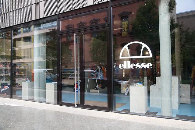 ellesse flagship store Berlin