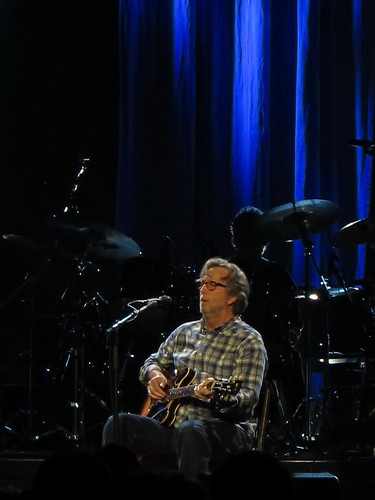 Eric Clapton In Vancouver