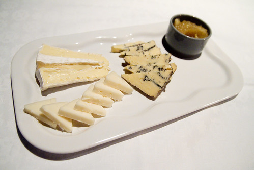 Norwegian cheese plate