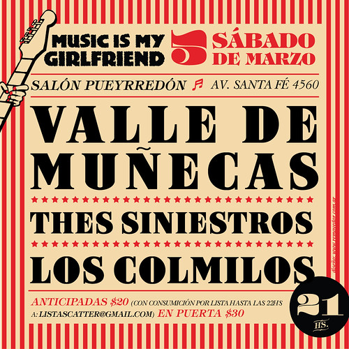 Sábado 5 de Marzo, Music Is My Girlfriend