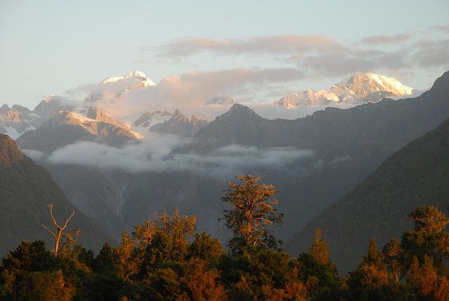 Mt. Tasman and Mt. Cook