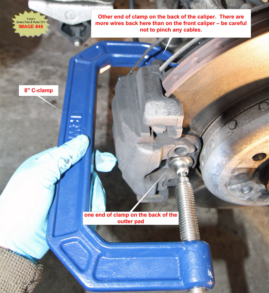Diy bmw 650i 645ci e63 e64 brake pad and rotors bimmerfest bmw forums