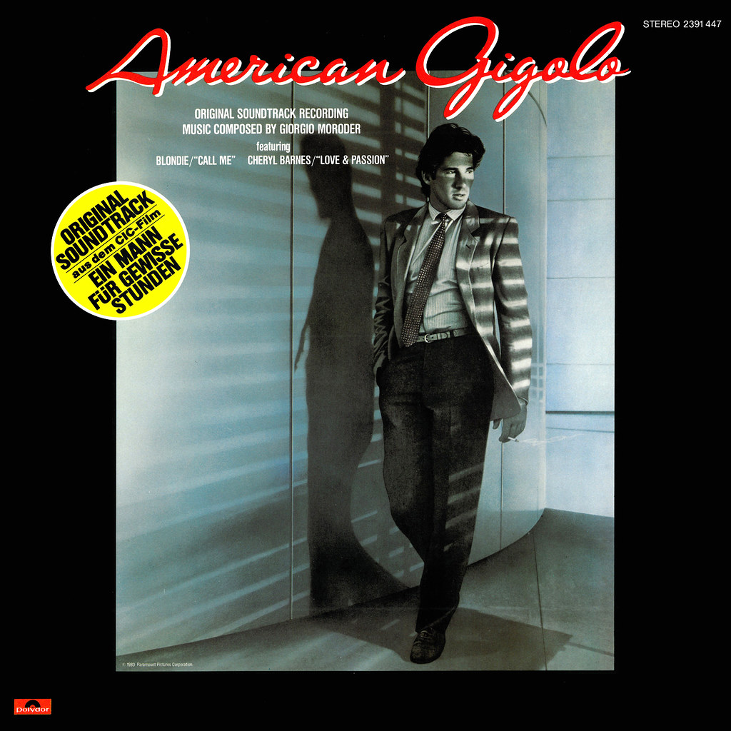American Gigolo Lp Cover Art