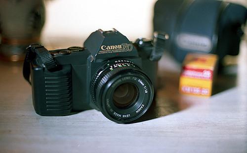 1983 Canon T50 camera