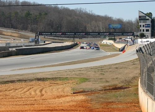 front grid at Road Atlanta