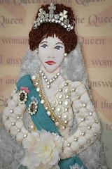 Your Majesty -- Bodice (Plays With Needles) Tags: tiara needlework embroidery mixedmedia queen cq crown crazyquilt majesty coronation beadwork queenelizabethii yourmajesty
