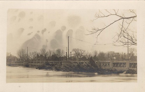 [Dayton View Bridge], Dayton, OH - 1913 Flood