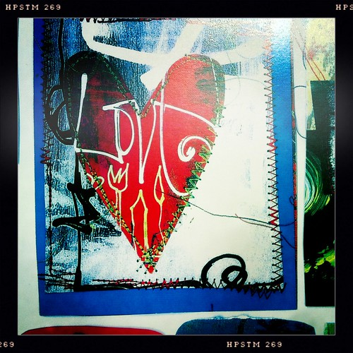 LOVE stitched