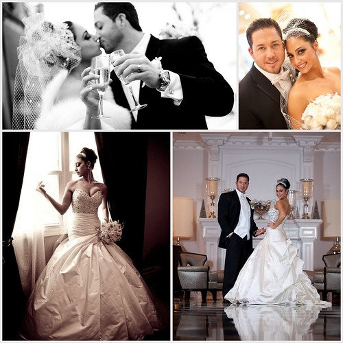 Bridal Styles bride Jeannette and Steven, custom couture bridal headpiece and cage veil by Bridal Styles, images Elite Photography