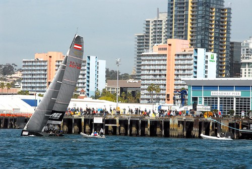 ORACLE RC44 Match Racing on San Diego Bay