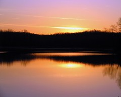 upon this morning's arrival (circulating) Tags: morning winter sky lake water sunrise landscape kentucky ky landbetweenthelakes lbl firsthand thisisky