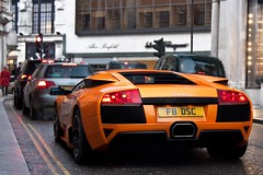 Vented. (Alex Penfold) Tags: street camera orange london cars alex sports car canon photography photo cool shot image awesome 4 picture fast super spot harrods knightsbridge exotic photograph lp basil lamborghini f8 supercar dsc spotting numberplate exotica supercars murcielago lambo penfold 640 spotter murci 2011 lp640 450d hpyer lp6404 f8dsc