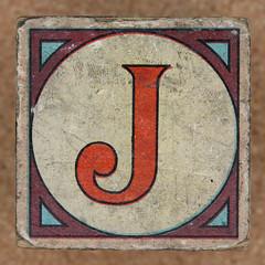 Vintage brick letter J (Leo Reynolds) Tags: canon eos iso100 j letter 60mm f80 oneletter jjj letterset 0125sec 40d hpexif grouponeletter xsquarex xleol30x