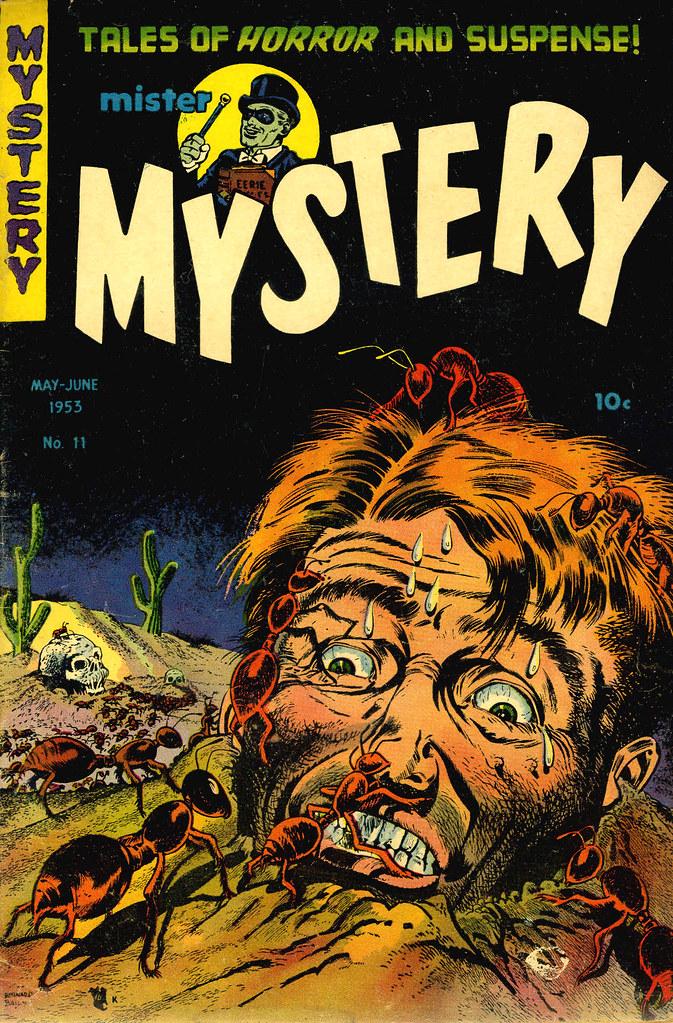 Mister Mystery #11 Bernard Baily Cover (Aragon Magazines, Inc., 1953)