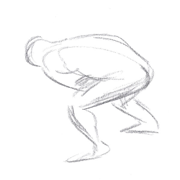 Gesture Drawing - Ouch - thumbnail