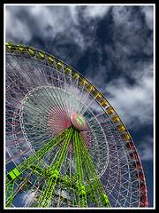 Big wheel (J. Carlos) Tags: wheel canon bravo santacruzdetenerife soe hdr s90 anawesomeshot flickraward doublyniceshot