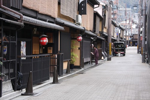 京の町並み / The scenery of the quality of Kyoto