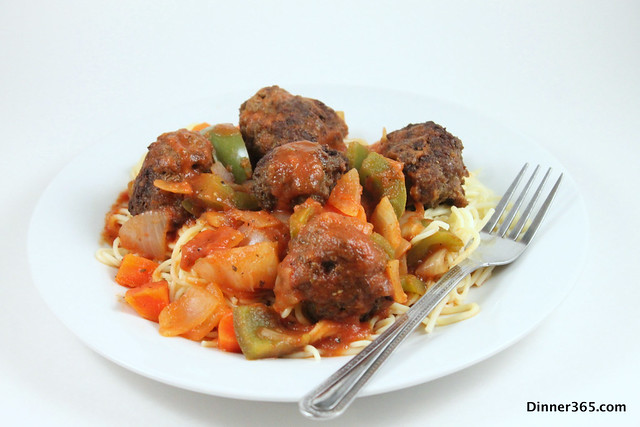Day 65 - Spaghetti and Meat Balls