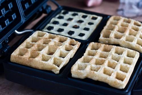 flipped waffles