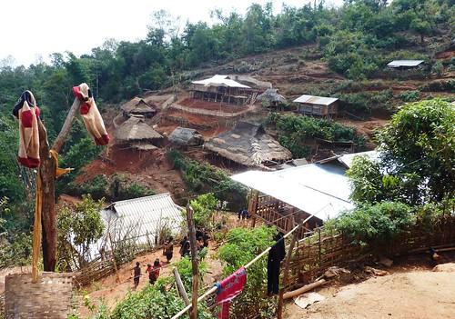 Kengtung - Village Eng-Le village (2)
