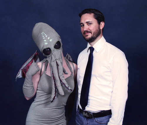 Emerald City ComiCon - Lady Cthulhu meets Wil Wheaton