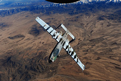 [Free Image] Vehicle, Aircraft, Ground-Attack Aircraft, A-10 Thunderbolt II, United States Air Force, 201103102300