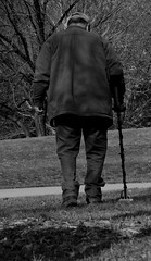 young at heart (justtakeabreath1) Tags: old white man black walking photography heart breath young just take