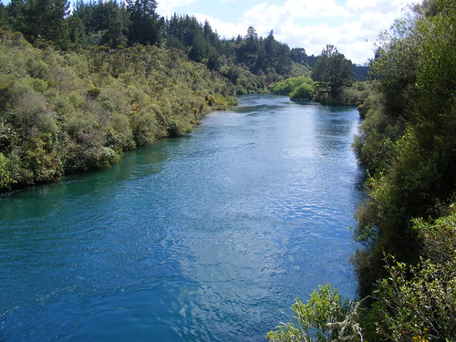 Picture from the Huka Falls Track