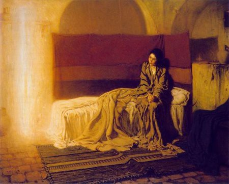Henry Ossawa Tanner - The Annunciation