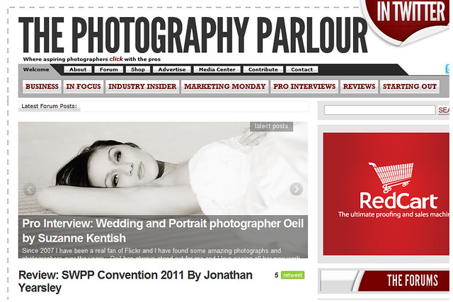 Interview with Oeil photography for the photography parlour by Suzanne Kentish
