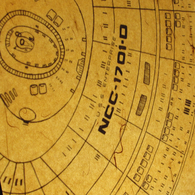 enterprise d blueprints detail