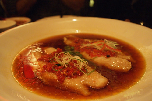 Catfish with salted chillies