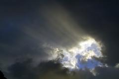 """ Luz entre las tinieblas "" (ibzsierra) Tags: sea sky cloud sun sol beach canon dawn mar alba playa amanecer ibiza cielo 7d eivissa solei nube cala baleares pada digitalcameraclub"
