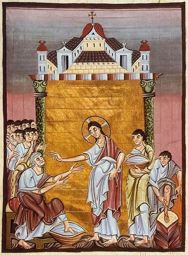 001-Evangelio de Otón III- año 1000 aprox- Bayerische Staatsbibliothek