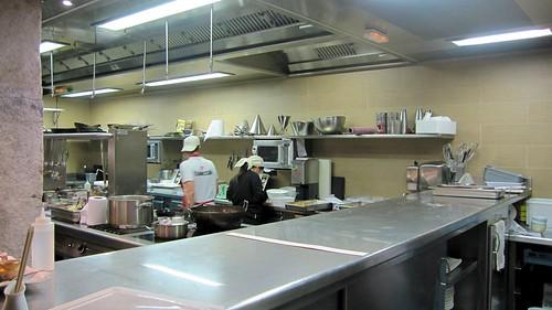 Cocina del Restaurante Bascook