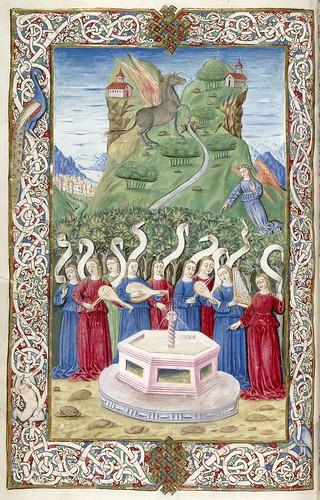012-Juvenal-Persius- Italia-siglo XV-HM 50 Huntington Library