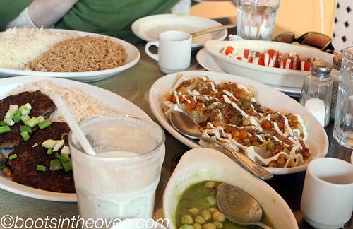 Mmm, a regular bounty of Afghan food